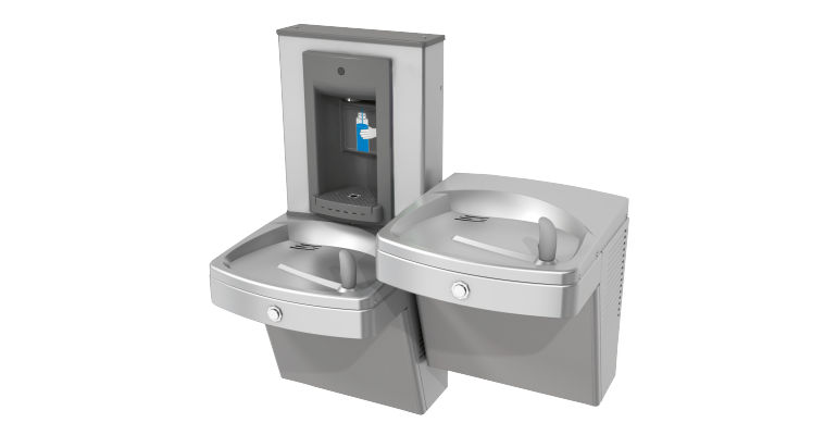 Chilled Drinking Fountain: KEPV8ACSL-SBF-STN - Franke