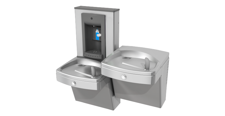 Unchilled Drinking Fountain: KEPVACSL-SBF-STN - Franke