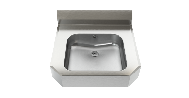 Wall hung basin: WHB2221-8 - Franke