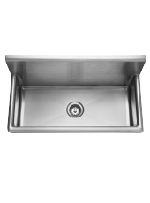 Wall Trough Sink - 16 gauge: WTS36-1 - Franke