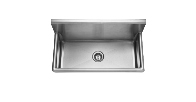 Wall Trough Sink - 14 gauge: WTS2036-1 - Franke
