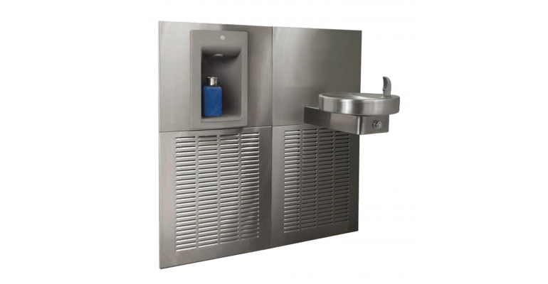 Chilled Drinking Fountain: KEM8-SBF-STN - Franke
