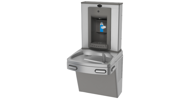 Chilled Drinking Fountain: KEP8AC-SBF-STN - Franke