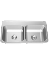 Drop In Sink: LBD1308P-1 - Franke